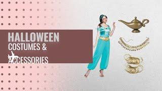 Seasons Women Halloween Costumes & Accessories [2018]: Jasmine Deluxe Adult Costume - Large