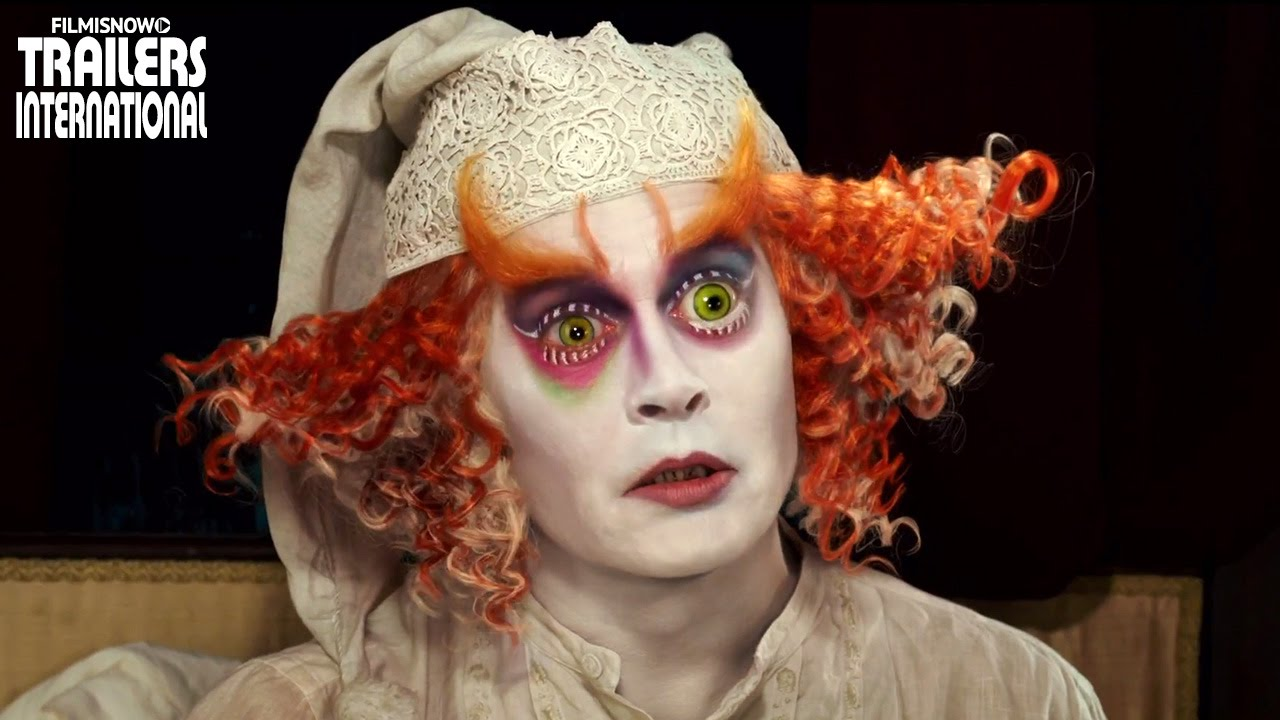 Alice Através do Espelho | Novo Spot + Bastidores + Trailer [Johnny Depp] HD