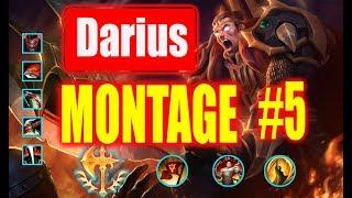 Darius Montage #5 |  1000 IQ |  League of Legends
