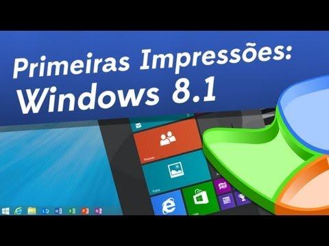 [Primeiras impressões] Windows 8.1 - Baixaki