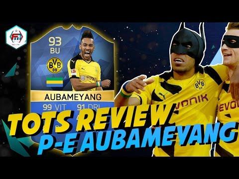 FUT16   TOTS Review   Pierre-Emerick Aubameyang (BU : 93) !