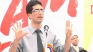 Very inspirational and motivational speech-Shah Faisal IAS Topper, part-4