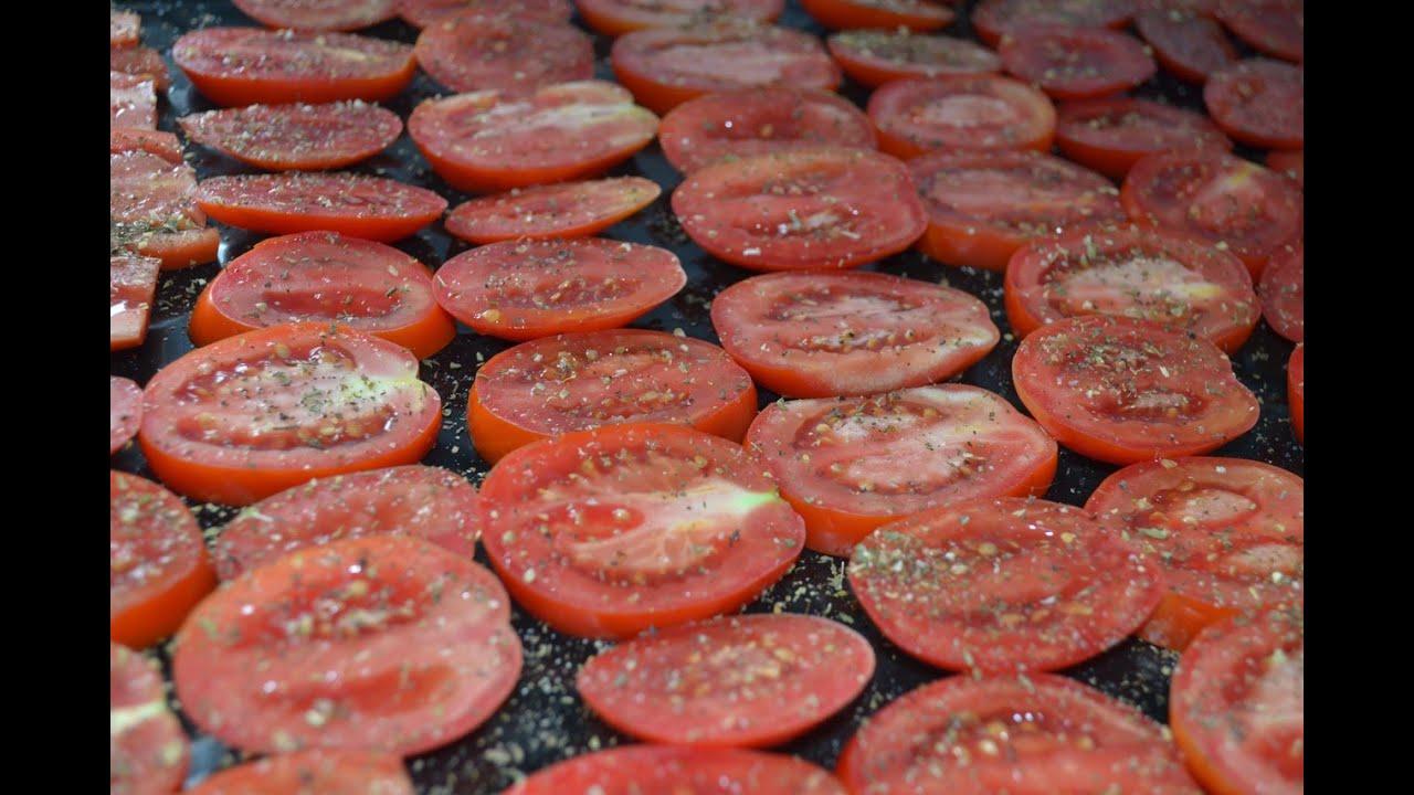 Как приготовить вяленые помидоры в домашних условиях в сушилке