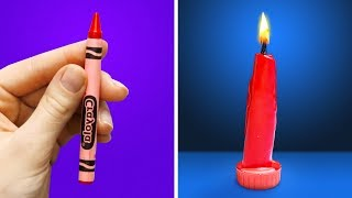 19 UNBELIEVABLY COOL DIY CANDLES
