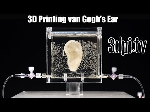 3D Printed Living Replica of van Gogh's Severed Ear