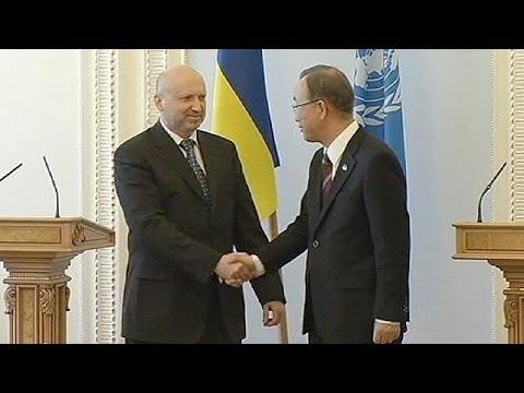 Ban Ki-moon appelle au respect de la souveraineté de l'Ukraine