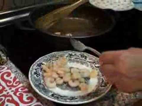 La cocina: Espinacas a la crema (1ª parte).