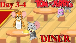 Tom en Jerry - Jerry dinerspellen dag 3-4 - Jerry is Dinner cartoongame