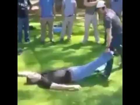 Como levantar a tu amigo rapidamente del piso