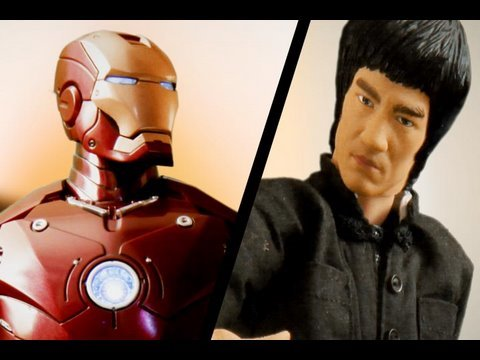Iron Man vs Bruce Lee Video