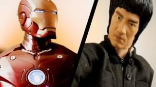 Thumb Bruce Lee versus Iron Man