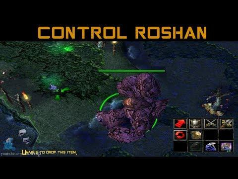 DotA Ultimate BUG - Control ROSHAN 6.80c • (1 april)