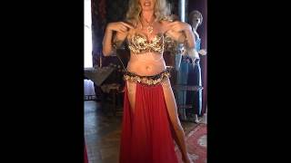 Marina Belly Dance Dum Dum Tak Oryantal Dansös