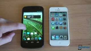 iOS 6 vs. Jelly Bean