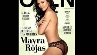 Mayra Rojas posó para la revista Open