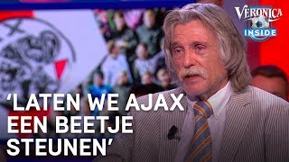 Johan over beslissing KNVB: 'Laten we Ajax een beetje steunen' | VERONICA INSIDE