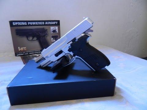 [VENDIDA]Vendo Pistola Airsoft HFC HA-109 SigSauer P226 6mm -Venda