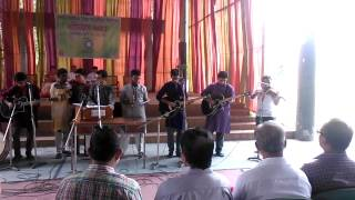 """নজরূল সংগীত- """"দাও শৌর্য দাও ধৈর্য"""" @College Orientation '15 of St. Joseph Higher Secondary School"""