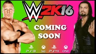WWE WRESLING 2K16 2016 TRAILER