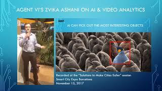 Agent Vi Zvika Ashani at Smart City Barcelona 2017