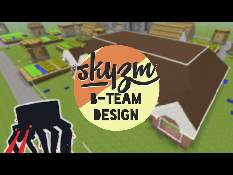 Minecraft! B-Team Designs - Day Care Center 2 (Modded Superflat Creative)