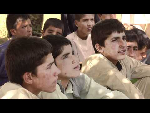 US Troops Protect Afghan Children From Improvised Explosive Devices
