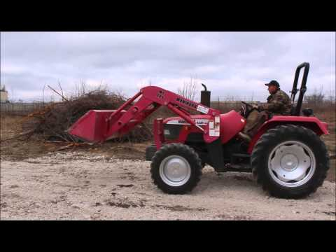 2001 Mahindra 4530 MFWD tractor for sale | sold at auction April 9, 2014