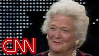 1994: Barbara Bush on her life in White House