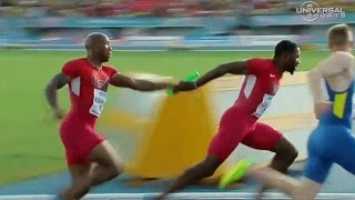 USA fails to make 4x100m Final in World Relays - Universal Sports