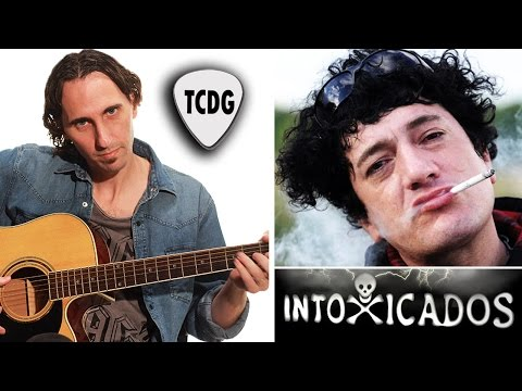 Como Tocar Fuego En Guitarra Acústica (Intoxicados) Tutorial TCDG