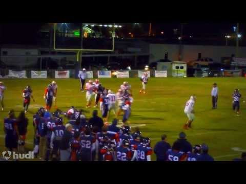 Bessemer Academy Football Josh Brooks 2013