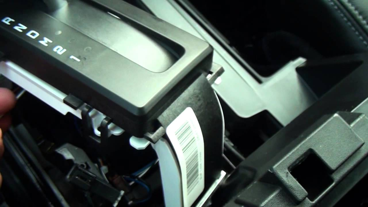 2013 F150 Console Shift Knob Removal Amp Cleaning Youtube