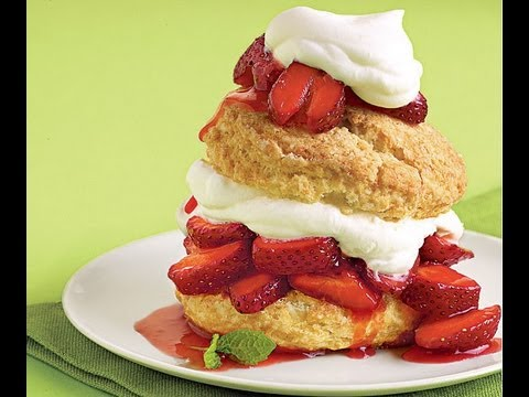 Strawberry Shortcake Video Recipe