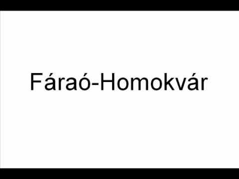 Fáraó - Homokvár