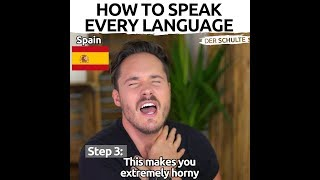 How To Speak Every Language