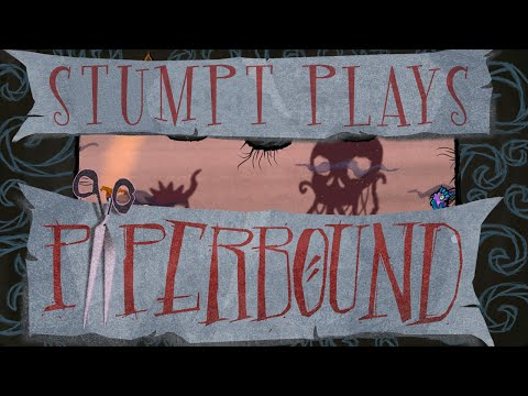 Stumpt Plays - Paperbound - Gravity Isn't Real (4 Player PS4 Gameplay)