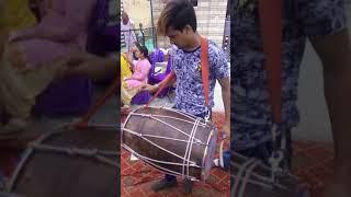 Ravi Dhool playing