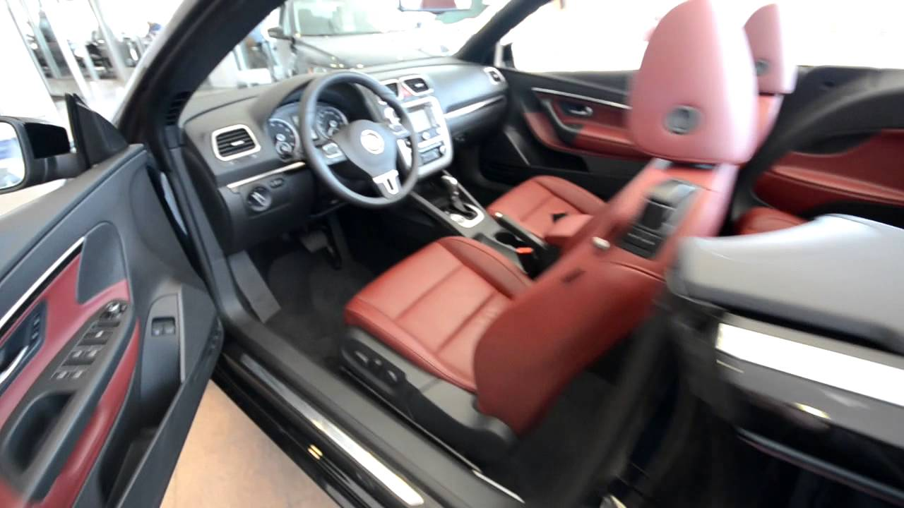 2012 Volkswagen Eos Lux RED LEATHER (stk# 3647A ) for sale at Trend Motors VW in Rockaway, NJ ...