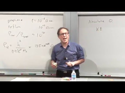 Steven Kivelson | Superconductivity and Quantum Mechanics at the Macro-Scale - 1 of 2
