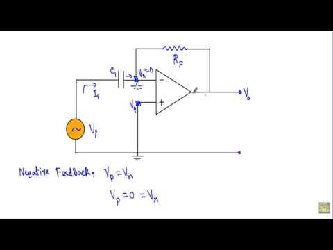 OP-AMP Differentiator Circuit (W subtitles)