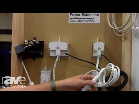 CEDIA 2016: PowerBridge Offers In-Wall Power and Cable Management