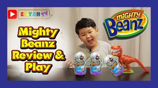 Review & play mighty beanz that I watched from Ryan's toy review