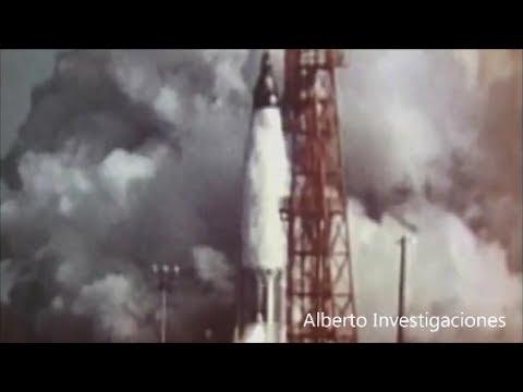 Lanzamiento de cohetes a la luna por la NASA y avistamiento OVNI