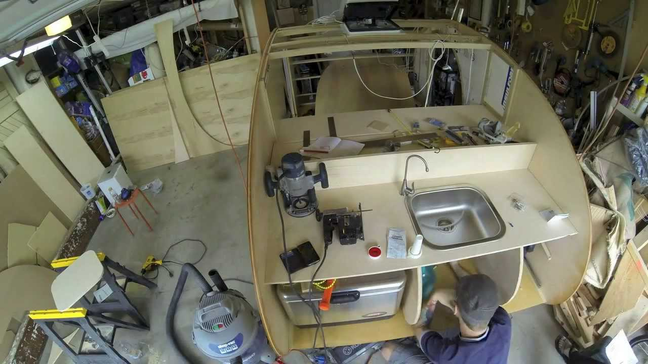 Denizen Teardrop Trailer Build — Galley Part 1