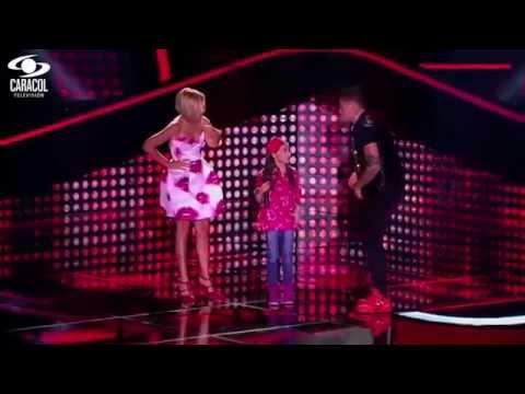 Valentina cantó '¿Y si hacemos un muñeco? De Anderson - LVK Colombia- Audiciones a ciegas - T1