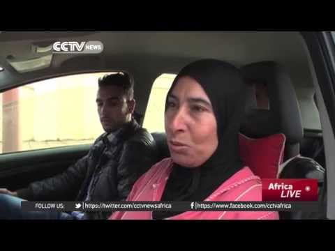 The only female taxi driver in Moroccan town challenges stereotypes