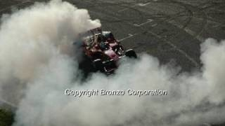 Ferrari F2008 Burnout with Massa and Raikkonen!