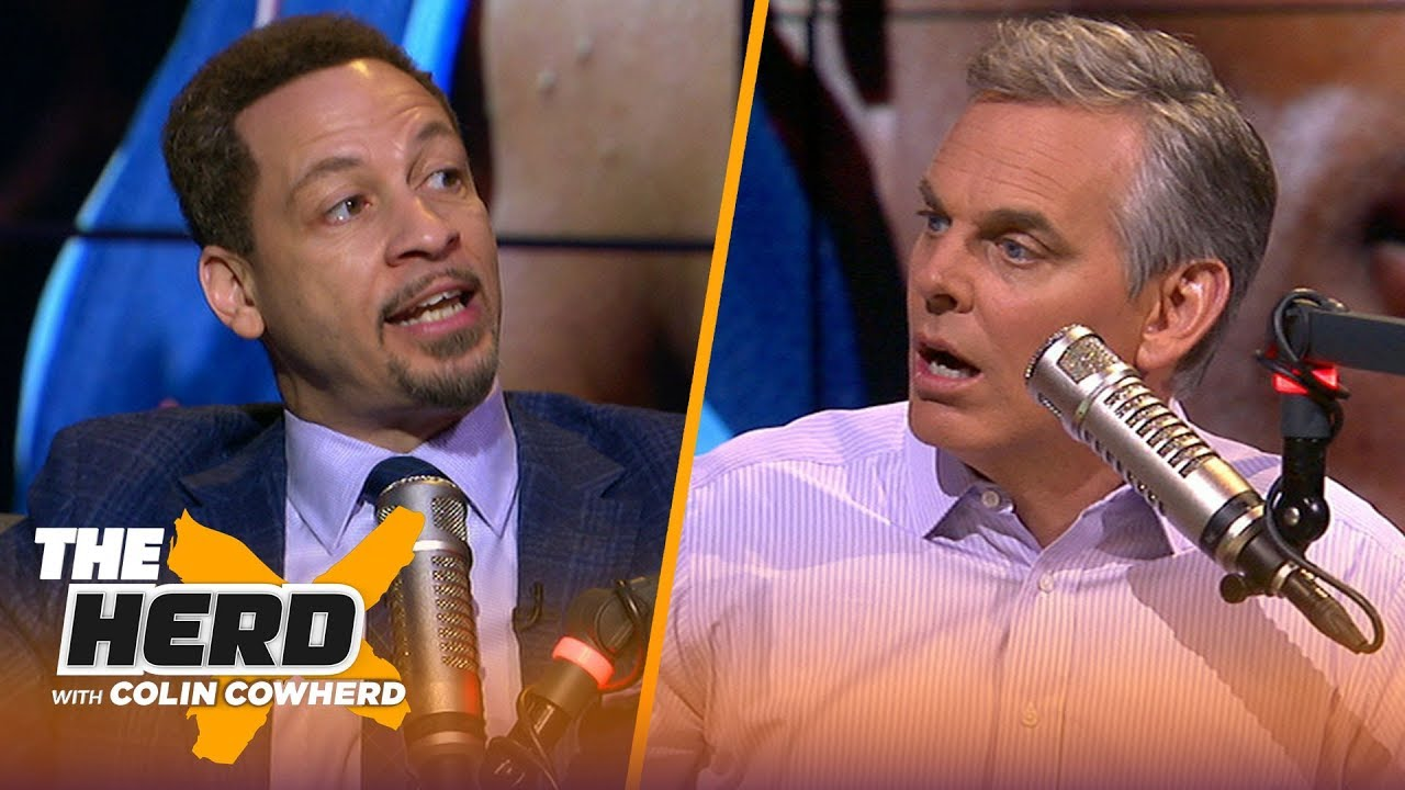 Chris Broussard & Colin disagree on Westbrook being iconic, talks Doc-Lakers rumors   NBA   THE HERD
