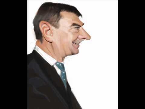 Andrus Ansip Caricature