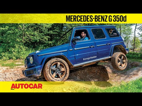 EXCLUSIVE: Mercedes-Benz G 350d diesel | Off-Road Review | Autocar India